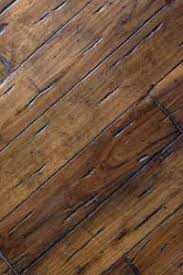 scraped distressed hardwood floors