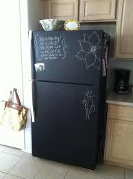 chalkboard appliance paint the 25 best chalkboard paint refrigerator ideas on