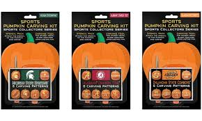Pumpkin Carving Kits Ncaa Pumpkin Carving Kit 6 Pk Groupon Goods