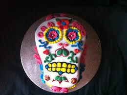 Halloween Skull Cakes by Fancy Spoon Bakery Sugar Skull Cake