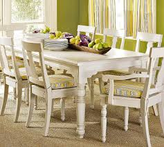 White Dining Chair Cushions Dining Room White Painting Dining Table Combine With Dining Chair