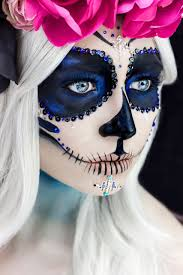 Sugar Skull Halloween Makeup Tutorial by Mexican Sugar Skull Makeup Halloween Is A Perfect Karla