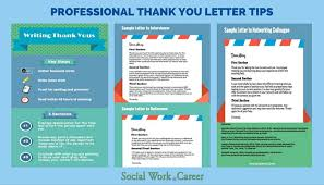 thank you letters how and why to write them socialwork career
