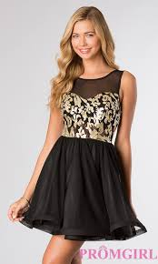 black and gold dress la glo sleeveless black and gold dress promgirl