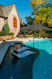 Swimming Pool Backyard by Pool Tanning Ledge Built By Blue Haven Pools Pools Pinterest