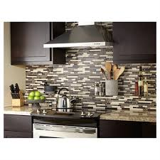 decoration kitchen tiles idea chateaux american olean mosaic chateau emperador mosaic and glass