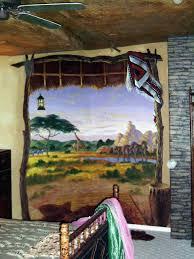 Safari Wall Murals Most Murals Custom Painted Murals By Utah Mural Artist Billy Hensler