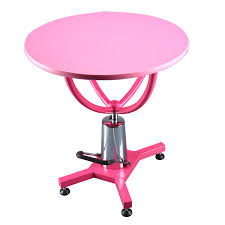 grooming table top material pet grooming table ft 805 round hydraulic shernbao