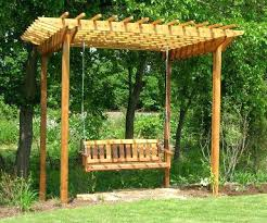 Pergola Backyard Ideas Pergola Swing Set U2013 Instavite Me