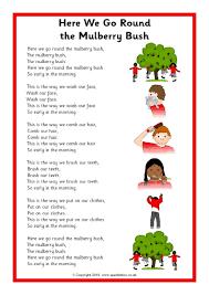 Backyard Animals Lyrics Five Little Monkeys Song Sheet Sb10880 Sparklebox Slp Music