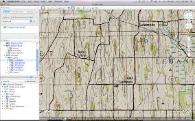 Wisconsin Topographic Map by Exploring Glacial Features Into The Outdoors