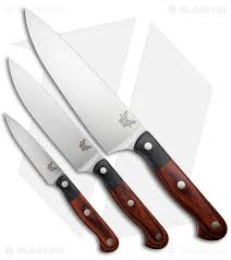 kitchen knives set benchmade kitchen knives gold class prestigedges chef set 4501