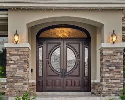 Entrance Door Design Double Front Doors With Stone Porch Double Front Doors For