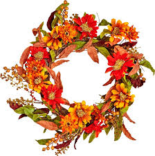 autumn wreath three posts 22 fall flowers berries and leaves wreath reviews