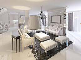 Wohnzimmer Design Bilder Deco Wohnzimmer Design Mit Schwarz Weißen Möbel Konsole