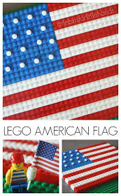 Flags Of United States Lego American Flag Patriotic Flag Activity For Kids