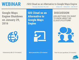 Google Maps Alternative A Reminder Gis Cloud U0027s Webinar Tomorrow Gis Cloud