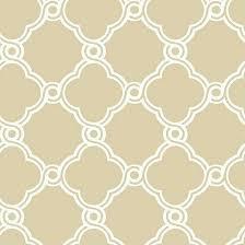 fretwork trellis wallpaper beige white double roll ballard designs