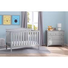 Rustic Convertible Crib by Delta Children Independence 4 In 1 Convertible Crib Rustic Gray