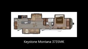 5th Wheel Camper Floor Plans Montana Fifth Wheel Floor Plans Keystone Rv Youtube