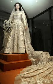 the queen u0027s wedding gown on display in 2002 century queens