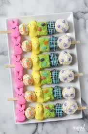 thanksgiving peeps peeps kabobs are the easter dessert we wish we u0027d thought of how