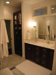 bathrooms design tall bathroom linen cabinet wooden bathroom