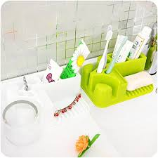 home cube combo 1 pc creative plastic toothbrush holder