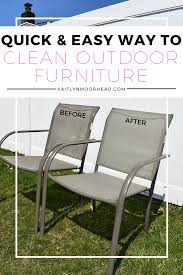 Outdoor Tanning Chair Design Ideas Easy Cheap Way To Clean Mold And Mildew Of Outdoor Furniture