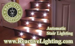 led stair lights motion sensor automatic motion detection stair lighting stair lighting