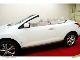 nissan crosscabriolet 2012 pearl white nissan murano crosscabriolet awd 72040154 photo