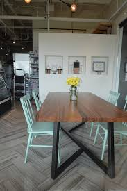 metal dining room tables monkeypod dining table with metal base intended for metal base