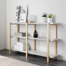 étagère derrière canapé rangement salon rangement modulable bestå ikea