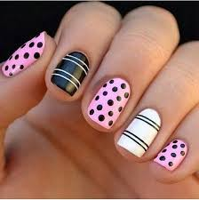 18 lovely polka dot nail art tutorials nail design ideaz