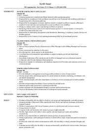 sle of resume enrollment specialist resume sles velvet