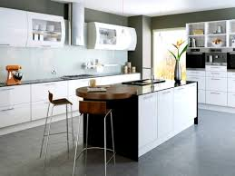 Kitchen Cabinet Refacing Reviews Bathroom Cool The Stylish High Gloss White Kitchen Cabinets