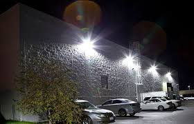 led outdoor lighting ge evolve led area lights collection auto