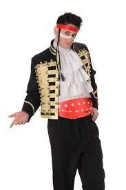 Prince Charming Costume Prince Charming Mens Fancy Dress 80s New Romance Adam Ant Pop Star