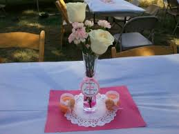 Baptism Centerpieces Baby Baptism Centerpieces Created By Me My Events Pinterest