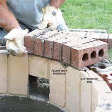 Build A Backyard Fire Pit by Building A Fire Pit Backyards Backyard Fire Pits And Diy And Crafts