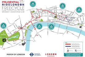 Google Maps Route Maker by Prudential Ridelondon 2015 Route Map Where And When To Watch The
