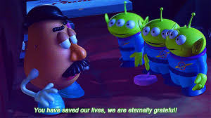 Toy Story Aliens Meme - toy story 2 1999 quotes celebquote