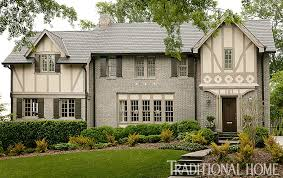 What Makes A House A Tudor Colorful Kid Friendly Atlanta Home Traditional Home