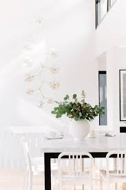 white and black kitchen island as dining table contemporary