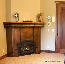 home decor top copper fireplace room design plan unique under