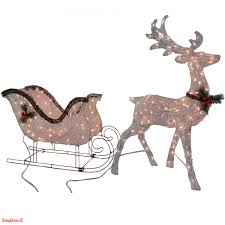 fresh outdoor christmas reindeer decorations lighted home design