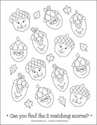 free thanksgiving coloring pages acorn coloring pages