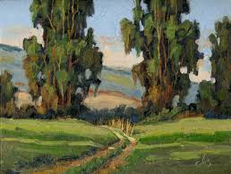 Impressionist Landscape Painting by Tom Brown Fine Art Impressionist Landscape Painting Click Here