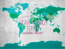 Map Grant Missionaries Grant U0026 Kandy Ferrer U2013 Come Awake