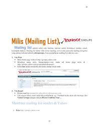 membuat group di yahoo mail dasar internet